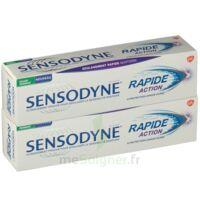 Sensodyne Rapide Pâte dentifrice dents sensibles 2*75ml à Saint-Cyprien