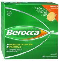 Berocca Comprimés effervescents sans sucre T/60 à Saint-Cyprien