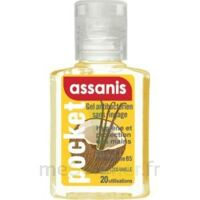 Assanis Pocket Parfumés Gel antibactérien mains Coco Vanille 20ml à Saint-Cyprien