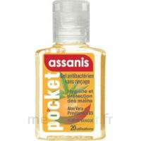 Assanis Pocket Parfumés Gel antibactérien mains Mangue 20ml à Saint-Cyprien