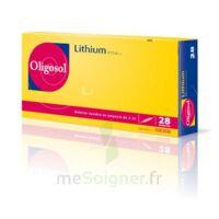 Oligosol Lithium Solution Buvable En Ampoule Ou En Récipient Unidose 28amp/2ml