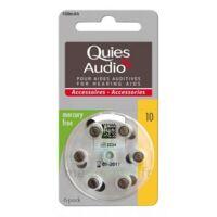 Quies Audio Pile Auditive Modèle 10 Plq/6 à Saint-Cyprien