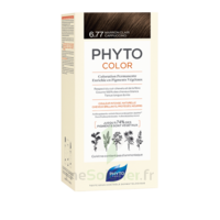 Phytocolor Kit coloration permanente 6.77 Marron clair cappuccino à Saint-Cyprien