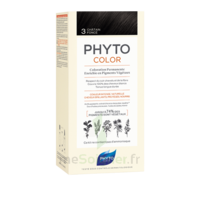 Phytocolor Kit Coloration Permanente 3 Châtain Foncé à Saint-Cyprien