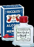 Ricqles 80° Alcool de menthe 30ml à Saint-Cyprien