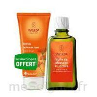 Weleda huile de massage arnica 200ml  + Gel douche OFFERT à Saint-Cyprien