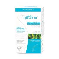 Netline Crème visage/corps décolorante peau sensible 30+30ml à Saint-Cyprien
