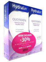 Hydralin Quotidien Gel lavant usage intime 2*200ml à Saint-Cyprien