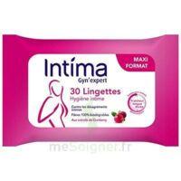 Intima Gyn'expert Lingettes Cranberry Paquet/30 à Saint-Cyprien