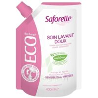 Saforelle Solution soin lavant doux Eco-recharge/400ml à Saint-Cyprien