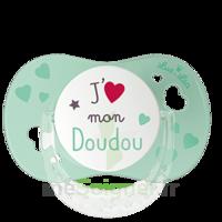 """Luc et Léa Sucette physiologique +6mois spécial bébé allaité """"J'aime mon Doudou"""" à Saint-Cyprien"""