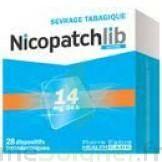 Nicopatchlib 14 Mg/24 H Dispositifs Transdermiques B/28 à Saint-Cyprien