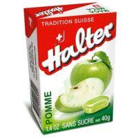 Halter sans sucre Bonbon pomme B/40g à Saint-Cyprien