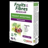 Ortis Fruits & Fibres Regular Comprimés 2*B/30 à Saint-Cyprien