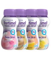 Fortimel Protein Nutriment Multi Saveurs Caramel/vanille/fraise/mangue 4 Bouteilles/200ml à Saint-Cyprien
