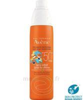 Avène Eau Thermale Solaire Spray Enfant 50+ 200ml à Saint-Cyprien