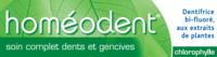 Boiron Homéodent Soin Complet Dents et Gencives Pâte Dentifrice Chlorophylle 2T/75ml à Saint-Cyprien