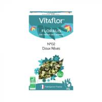 Vitaflor N°2 Doux Rêves Bio _ Floralis Plantes En Vrac Composées _ 40g à Saint-Cyprien