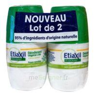Etiaxil Végétal Déodorant 24h 2roll-on/50ml à Saint-Cyprien