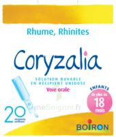 Boiron Coryzalia Solution Buvable Unidose B/20 à Saint-Cyprien