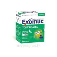 Exomuc 200 Mg, Granulés Pour Usage Oral En Sachet 15 Sachets/2g à Saint-Cyprien