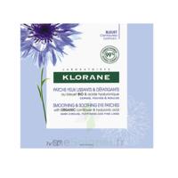 Klorane Bleuet Bio Patchs Défatigants Express 7x2 Patchs