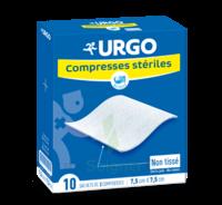 Urgo Compresse Stérile Non Tissée 10x10cm 10 Sachets/2 à Saint-Cyprien